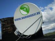 Спутниковое телевидение в Мурманске,  Триколор ТВ,  НТВ-Плюс,  Платформа.