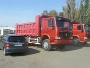 Самосвалы Хово Howo в Омске ,  6х4 25 тонн ,  2300000 руб в наличии.
