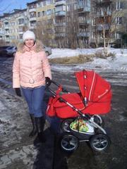 Продам детскую коляску Mikrus 3 в 1.польша.