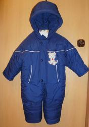 Продам зимний детский комбинезон,  размер 80